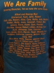 2010 Family Reunion T-Shirt (Back)